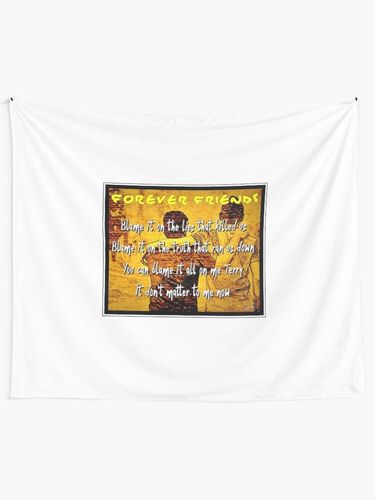 Bruce Springsteen Lyrics Backstreets 1   Wall Tapestry