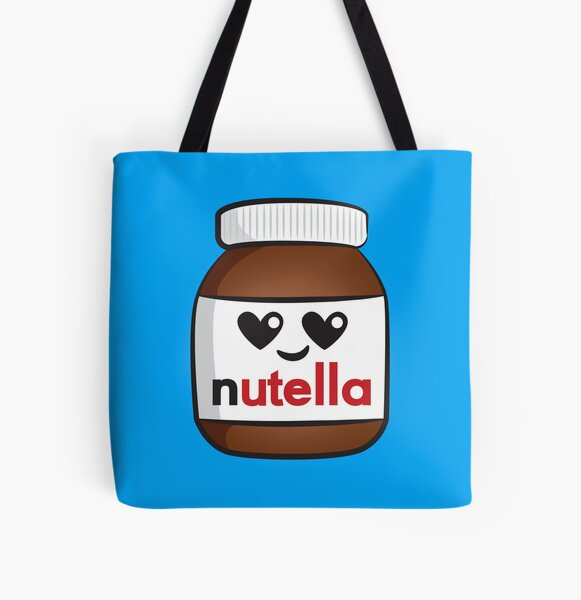 Nutella face 5 All Over Print Tote Bag