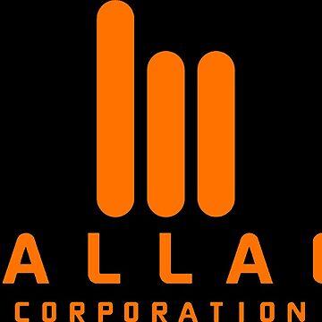 Wallace Corporation logo (on black) by dschweisguth