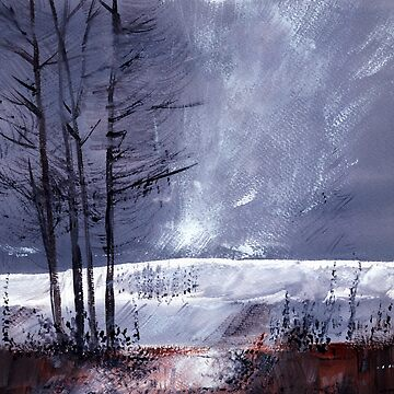 Snowscape 1 by arnene