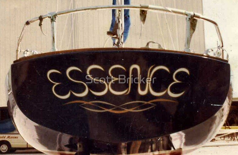 'Transom, ~ Essence~' by Scott Bricker