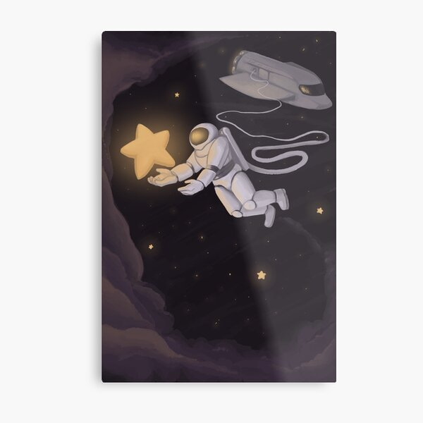 dreams are made of stars Metal Print