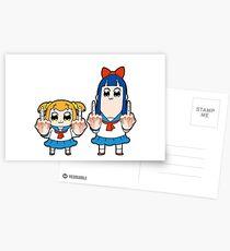Pop-Team-Epos Postkarten