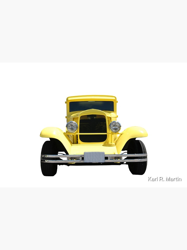 Yellow Hot Rod by SirEagle