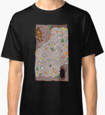 Wētāpunga in a lichen maze Classic T-Shirt