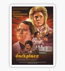 Garth marenghi Dark Place Poster  Sticker