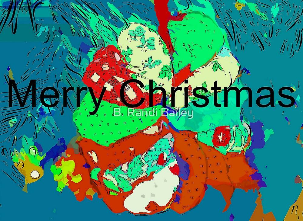Fabric wreath ornament by ♥⊱ B. Randi Bailey
