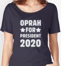 Oprah For President STAR Women's Relaxed Fit T-Shirt