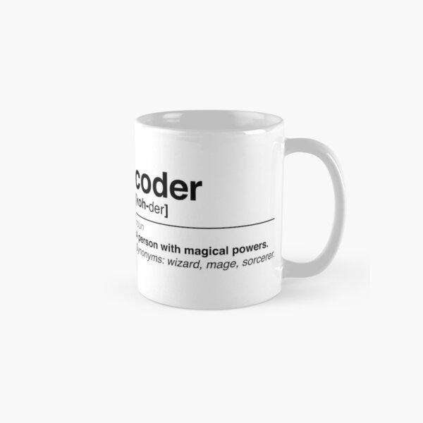 Coder definition Classic Mug