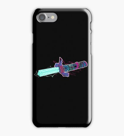 Master The TriLaser (colour version) iPhone Case/Skin