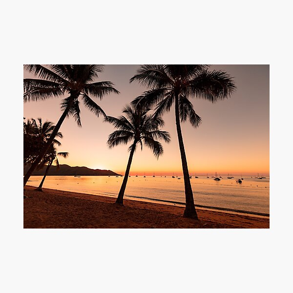 Magnetic Island Sunset Photographic Print