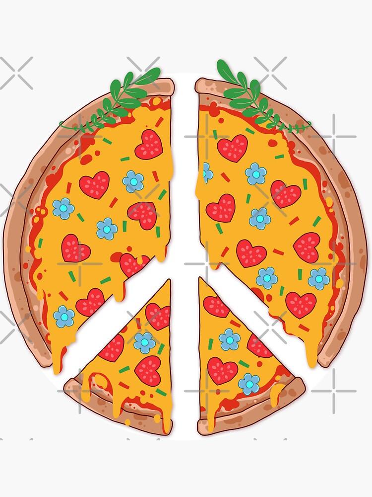 Peazza, Love and Joy by GODZILLARGE