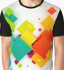 Abstract Graphic Box Graphic T-Shirt