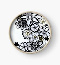 Florable Art Clock