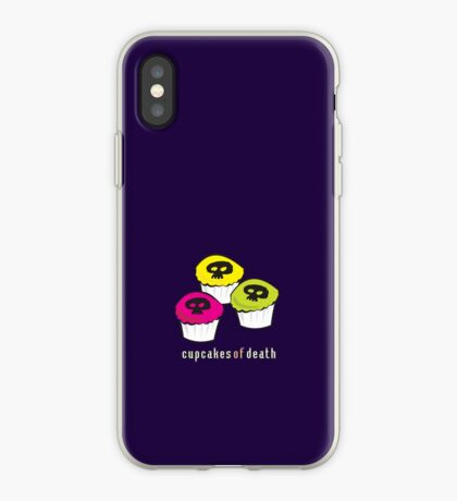 Cupcakes of Death iPhone Case