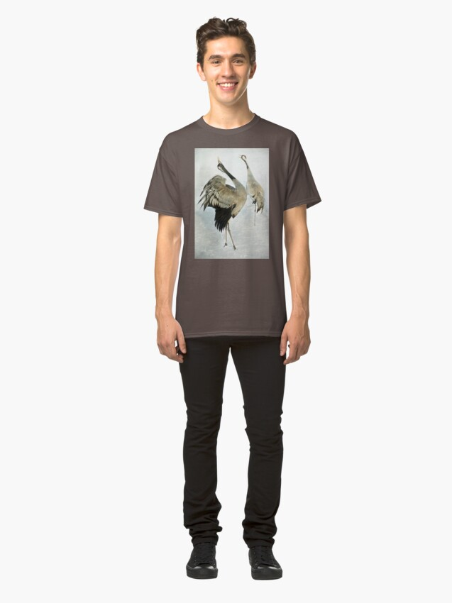 Alternate view of The Dance of the Cranes - 2 of 2 Classic T-Shirt
