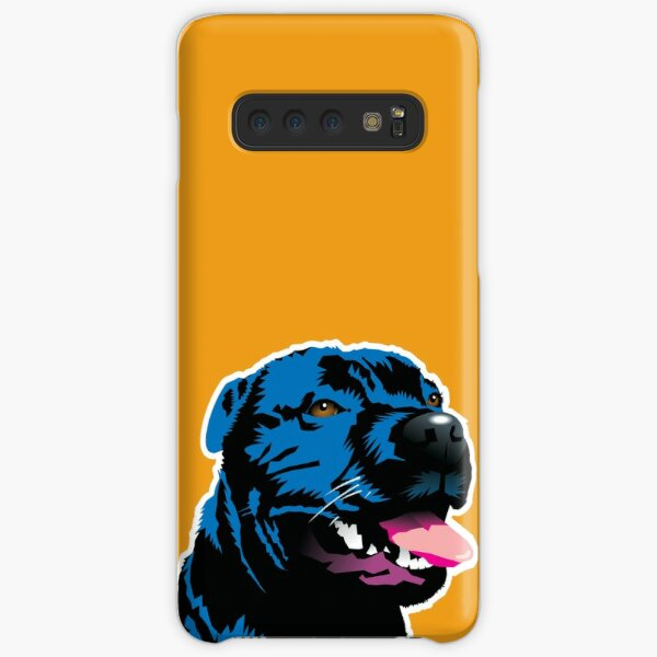 Blue Staff Staffy Samsung Galaxy Snap Case