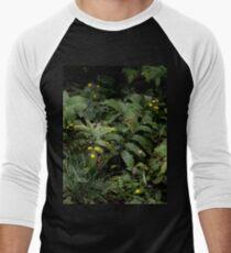 The Green of the Mackinac Island Forest Floor Men's Baseball ¾ T-Shirt