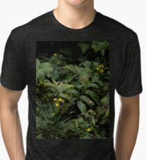 The Green of the Mackinac Island Forest Floor Tri-blend T-Shirt