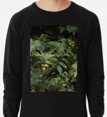 The Green of the Mackinac Island Forest Floor Lightweight Sweatshirt