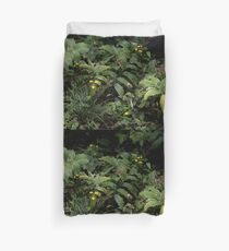 The Green of the Mackinac Island Forest Floor Duvet Cover