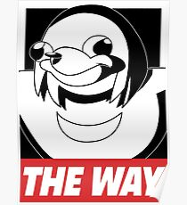 OBEY THE WAY - Ugandan knuckles Poster