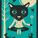 TAROT CARD CAT: THE MAGICIAN by JazzberryBlue
