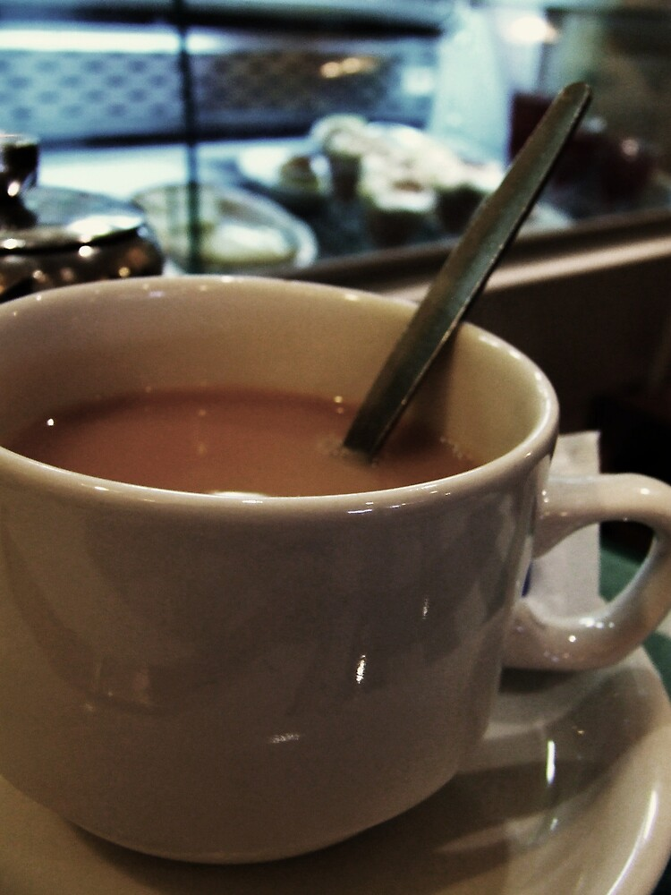 a nice cup of British tea by Sarah Holliday