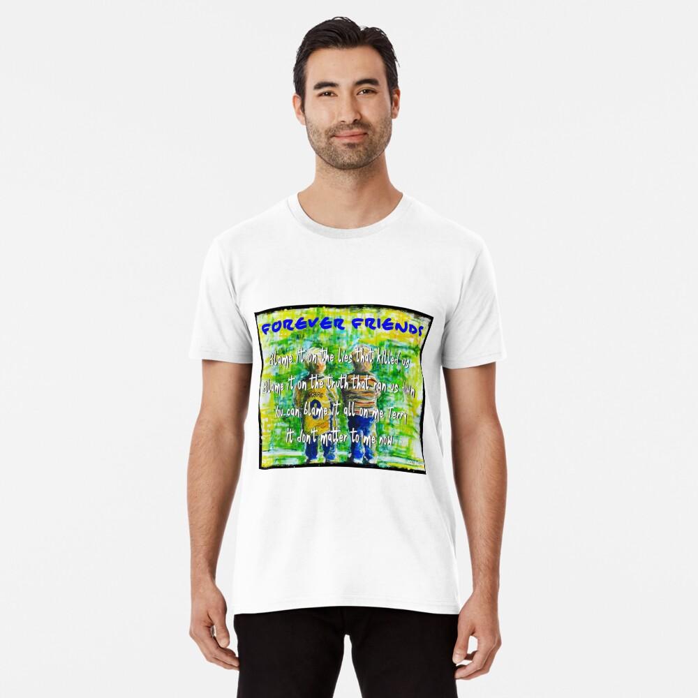 Bruce Springsteen Backstreets Tribute 3   Men's Premium T-Shirt