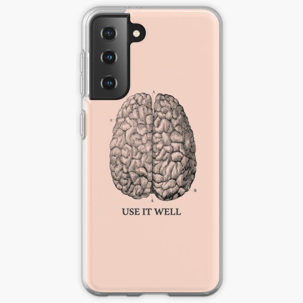 Use it well - Brain  Samsung Galaxy Soft Case
