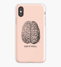 Use it well iPhone Case/Skin