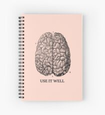 Use it well - Brain  Spiral Notebook