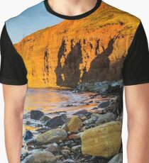 As The Sun Sets At Skinningrove Graphic T-Shirt