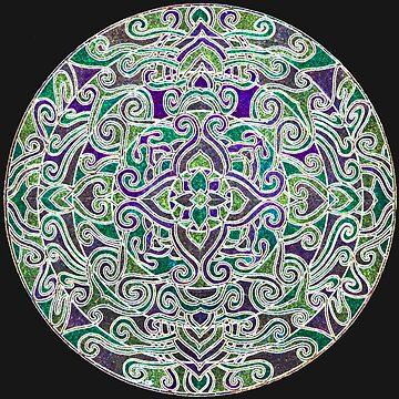 Kaleidoscope Neon by sharpie