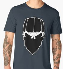 Thug Gangsta Skull Men's Premium T-Shirt