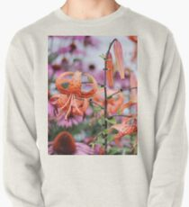 Mackinac Island Tiger Lilies and Echinacea Pullover