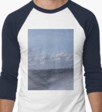 Abstract of Mackinac Island Ferry Ride Men's Baseball ¾ T-Shirt