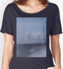 Abstract of Mackinac Island Ferry Ride Women's Relaxed Fit T-Shirt
