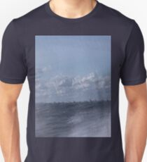 Abstract of Mackinac Island Ferry Ride Unisex T-Shirt
