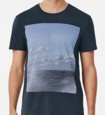 Abstract of Mackinac Island Ferry Ride Men's Premium T-Shirt