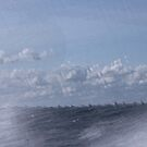 Abstract of Mackinac Island Ferry Ride by photolodico
