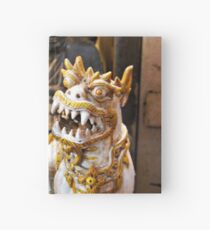 The twins - handsome little dragons Hardcover Journal