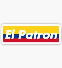 El Patron Supreme Colombia Sticker