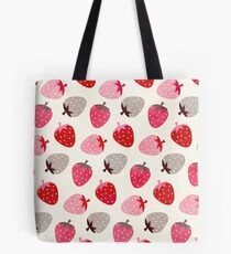 Erdbeerfelder Tote Bag
