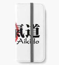 Aikido 2 for light background iPhone Wallet/Case/Skin