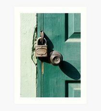 Lock VI Art Print
