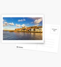 Whitby Harbour Postcards