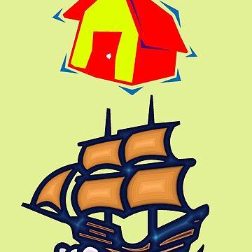 House Boat  Design by muz2142