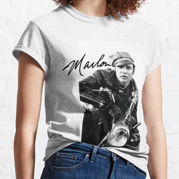 Marlon Brando, motorcycle Classic T-Shirt
