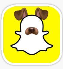 *The Oringinal* Snapchat dog! Sticker